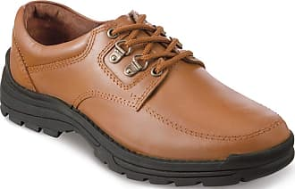 Chums Mens Leather Lace Walking Shoe Tan 11 UK