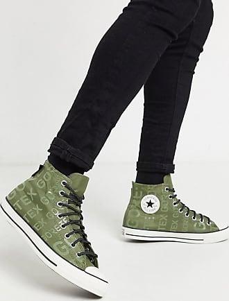 Converse Chuck Taylor All Star - Grüne Gore-Tex-Sneaker mit Logo