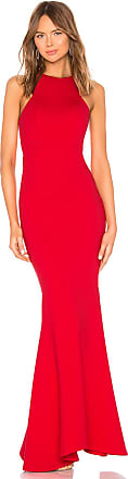Lovers + Friends Abby Gown in Red