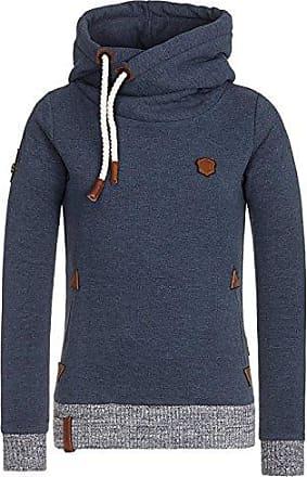 Naketano Sweatjacke Sweatshirt Pullover Hoodie Gr. S blau