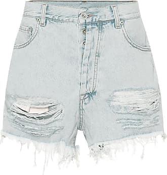 Unravel High-Rise Jeansshorts