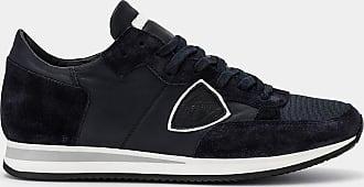 Philippe Model Sneakers - Blu - Tropez - Veau Bleu 4b6bbc77501