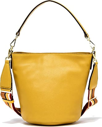 Gianni Chiarini medium size jacky bucket bag color yellow