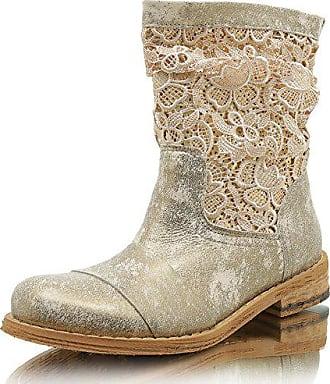 a5d4a2d3c078da Felmini A947 Gredo Quartz+Guipure Damen Stiefelette Boots (37