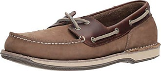 Rockport Mens Perth Shoe, Taupe Nubuck/Beeswax Leather, 11 XW US