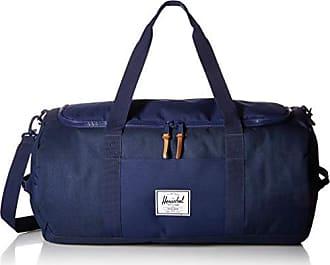 Herschel Sutton Duffel Bag, Crosshatch/Medieval Blue, One Size