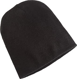 Yupoong Flexfit Unisex Heavyweight Standard Beanie Winter Hat (One Size) (Black)