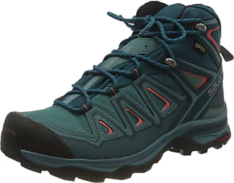 Salomon Womens X Ultra 3 MID GTX High Rise Hiking Boots, Blau Hydro Reflecting Pond Dubarry 000, 7.5 UK