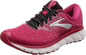 Brooks Womens Glycerin 16 Running Shoes, Pink (Pink/Black/Blue 666), 3.5 UK