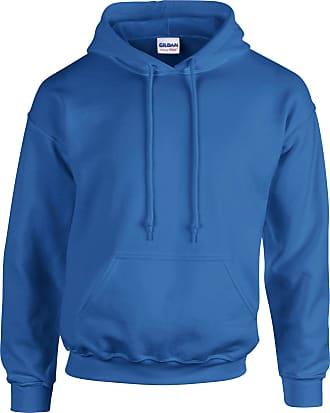 Undercover Gildan Hooded Sweatshirt Heavy Blend Plain Hoodie Pullover Hoody Royal 2XL