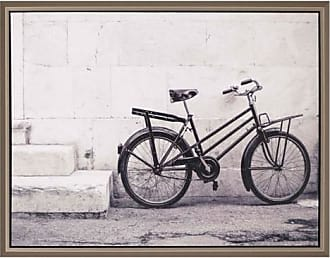Paragon Picture Gallery Paragon Sepia Bike Framed Wall Art