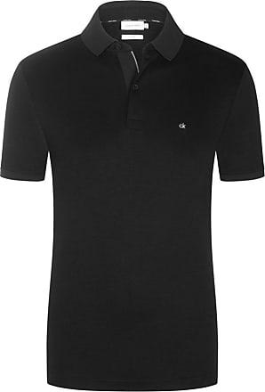 Calvin Klein Poloshirt in Jersey-Qualität, Slim Fit von Calvin Klein in Schwarz für Herren