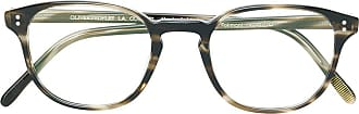 Oliver Peoples Armação de óculos Fairmont - Marrom