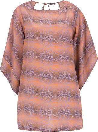 Amir Slama silk beache dress - Brown
