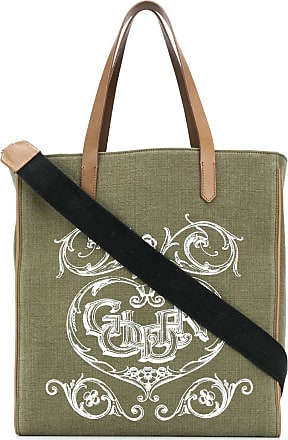 Golden Goose graphic-print tote bag - Verde