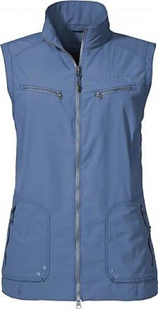 Schöffel Womens Vest Cannes1 Gilet softshell Donna   beige/grigio