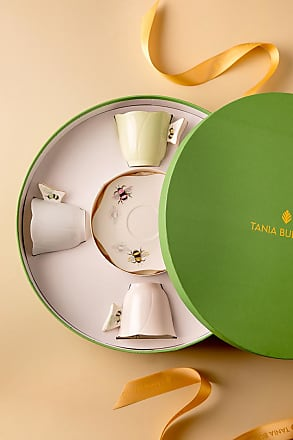 Tania Bulhões Set Xícara de Chá Abelha 4 lugares - Lifestyle