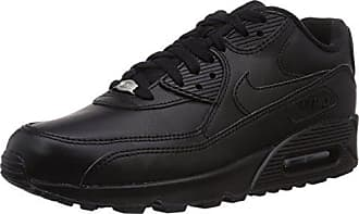 timeless design bd844 f57db Nike Air Max 90 Leather Scarpe da ginnastica, Uomo, Nero, 44 1