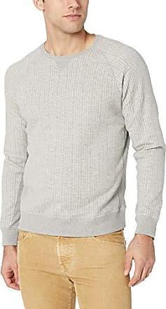 Billy Reid Mens Long Sleeve Gradient Crew Neck Sweatshirt