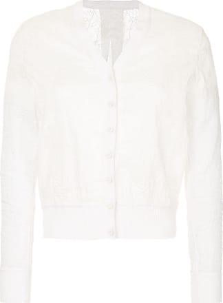Onefifteen Cardigan de seda - Branco