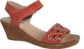 Cushion-Walk Womens Elasticated Back Strap Sandals (8 UK, Tina Coral)