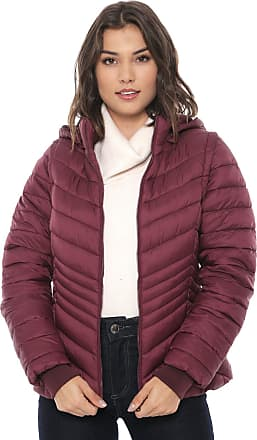 Facinelli by MOONCITY Jaqueta Puffer Facinelli by MOONCITY Recortes Vinho