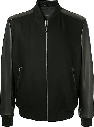 Durban bomber leather jacket - Black