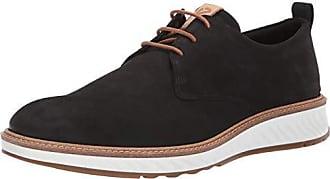 Ecco Mens ST1 Hybrid Plain Toe Oxford Black Nubuck 42 M EU (8-8.5 US)