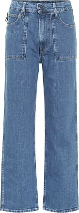 Helmut Lang High-Rise Straight Jeans Factory