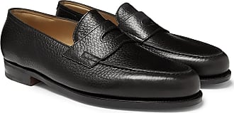 c247b319585 John Lobb Lopez Full-grain Leather Penny Loafers - Black