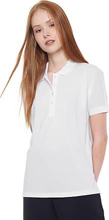 a4321d1727c Lacoste Camisa Polo Lacoste Reta Lisa Branca