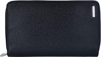 4e2ad23d44f HUGO BOSS Signature Portemonnaie Portefeuille cuir 21 cm
