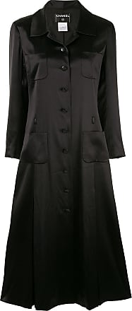 Chanel pleated coat - Black