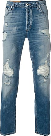 Dondup ripped carrot fit jeans - Azul