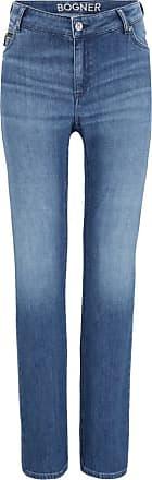 Bogner Grace High waist jeans for Women - Washed denim blue