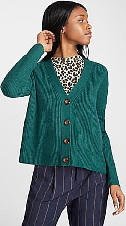 Twik Marbled buttoned cropped cardigan