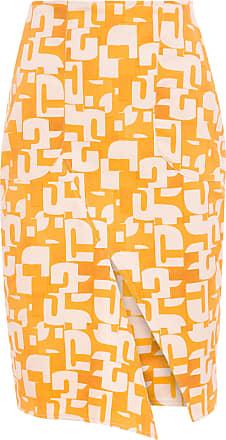 Wymann Saia Lápis Fenda Assimétrica - Amarelo