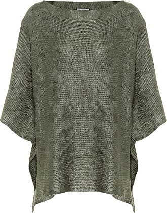 Brunello Cucinelli Linen and silk knitted cape