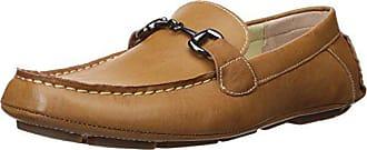 Perry Ellis Mens Nick Driving Style Loafer, Beige, 11 Medium US
