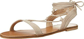 Chinese Laundry Womens Belle Gladiator Sandal, Mushroom Suede, 7.5 M US