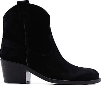 Via Roma 15 Fashion Womens 3044NEROSUEDE Black Ankle Boots | Autumn-Winter 19