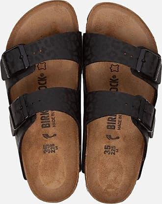 Birkenstock Arizona slippers luipaard