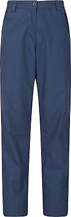 Mountain Warehouse Quest Womens Trousers - Lightweight Ladies Summer Pants, Breathable Hiking Bottoms, Easy Care Outdoor Clothing -Best for Walking, Holidays, Travelling