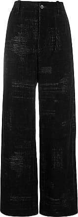 Uma Wang wide leg trousers - Black