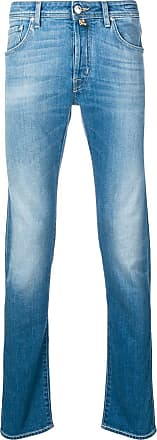 Jacob Cohen faded stonewashed jeans - Azul