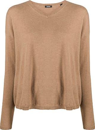 Aspesi v-neck knitted jumper - Marrom