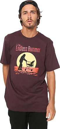...Lost Camiseta...Lost Endless Bummer Bordô