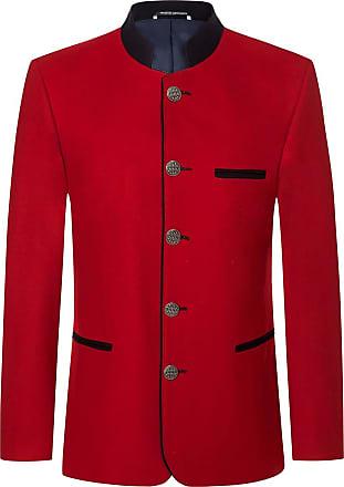 Sandberg Trachtenjanker (Rot) - Herren