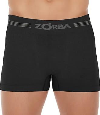 Zorba Cueca Boxer Seamless Free,Zorba,Masculino,Preto,GG