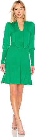 Bcbgmaxazria Midi Sweater Dress in Green
